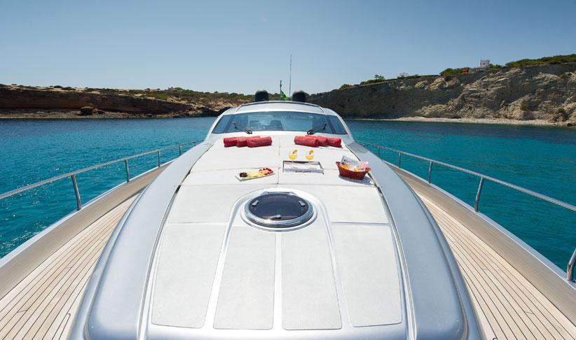 Yacht Crew Luxembourg: Pershing 72 Superyacht In Ibiza
