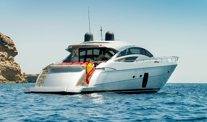 Pershing 72 Superyacht in Ibiza
