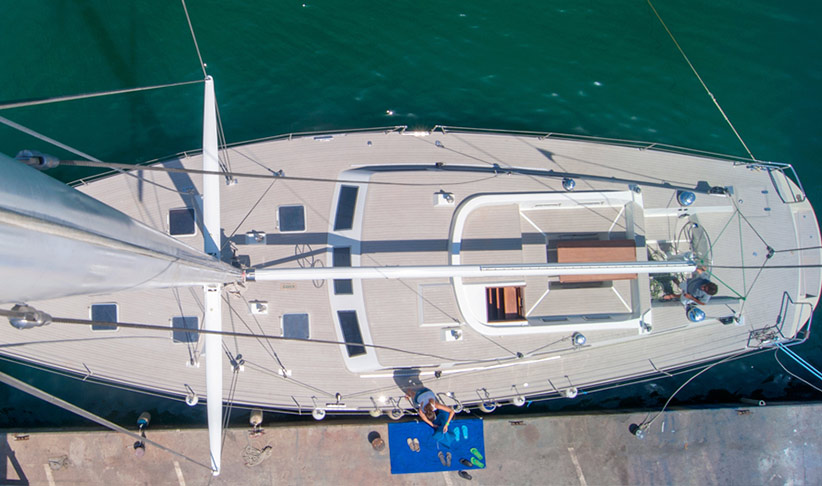 Ariel view of PARSONS PLYMOUTH 70