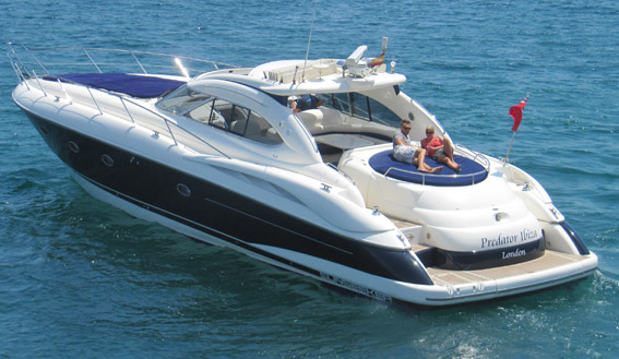 Image of the SUNSEEKER PREDATOR 60 MOTORBOAT