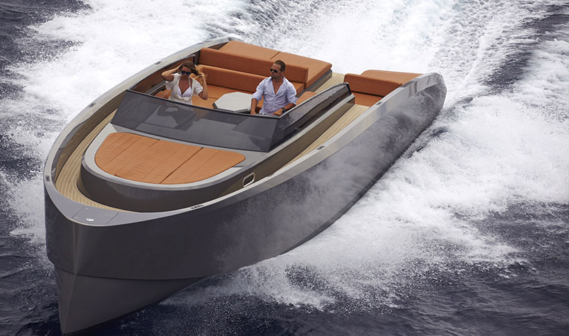Vanquish 43 Motorboat for Charter in Ibiza