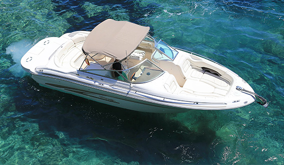 Image of SEARAY 280 MOTORBOAT layout