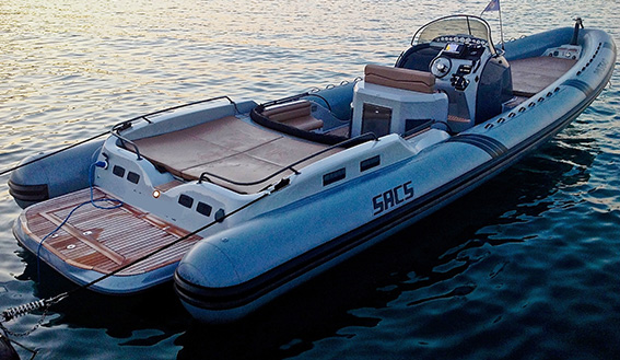 Image of SACS STRATOS 12 MOTORBOAT layout