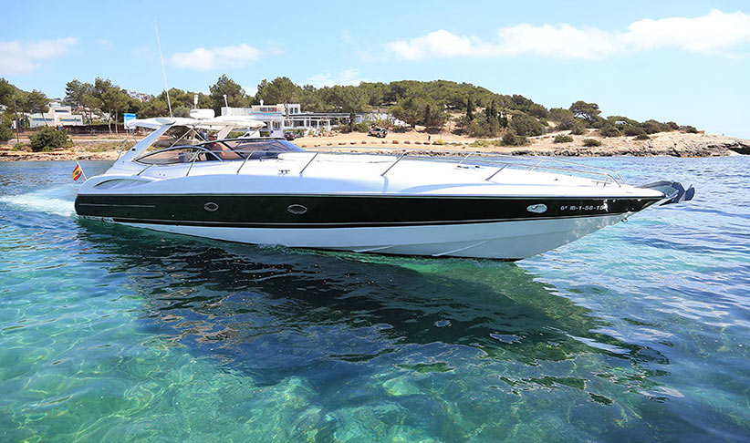 Jeanneau 57 sailing boat on charter in Ibiza, by Lux Charters Ibiza