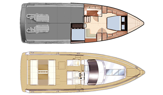 Image of FJORD 40 OPEN MOTORBOAT layout