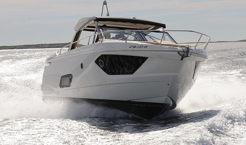 Full Speed Ahead the Absolute 40 Sport Motorboat by Lux Charters Ibiza