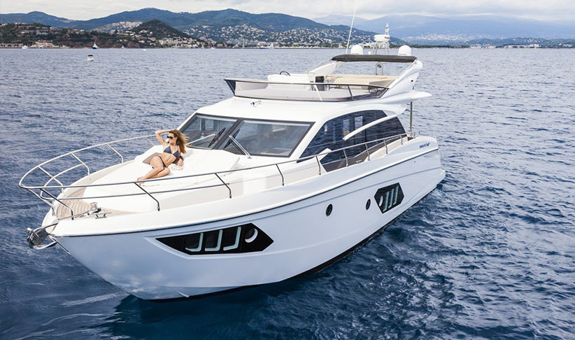 Absolute Fly 52 motoryacht on charter in Ibiza