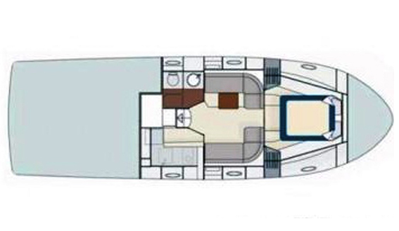 Image of Itama 40 motorboat plan drawings