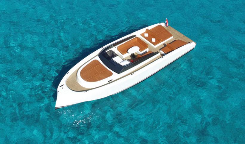 Vanquish 43 Motorboat