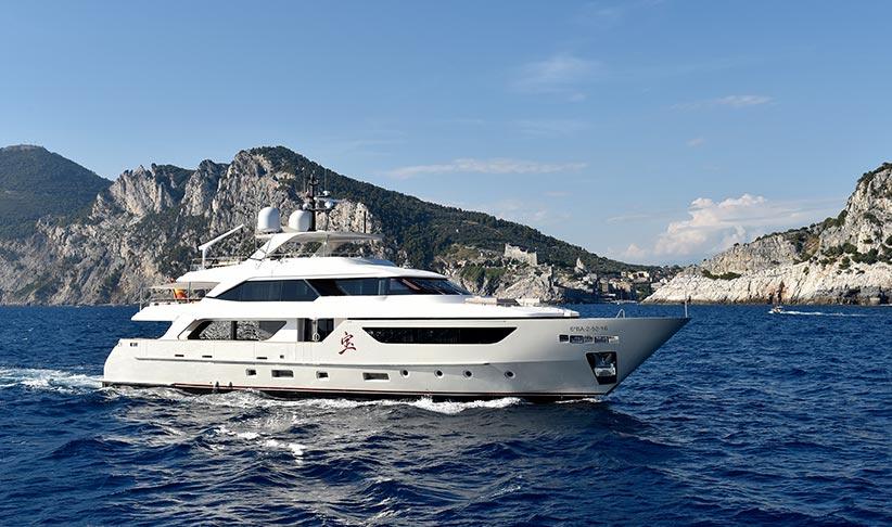 San Lorenzo 126 Superyacht in Ibiza