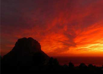 Catch the sunset in Ibiza this summer, the spectacular blue and orange hues the views from Benirras will light up the sky