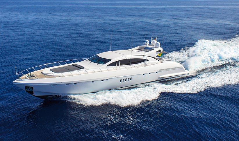 Mangusta 108 Superyacht