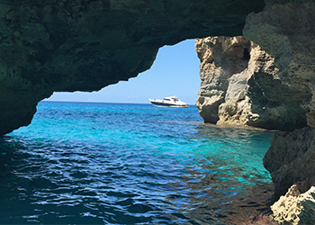 Navigate the clear waters of the Balearic islands this summer onboard your luxury charter boat